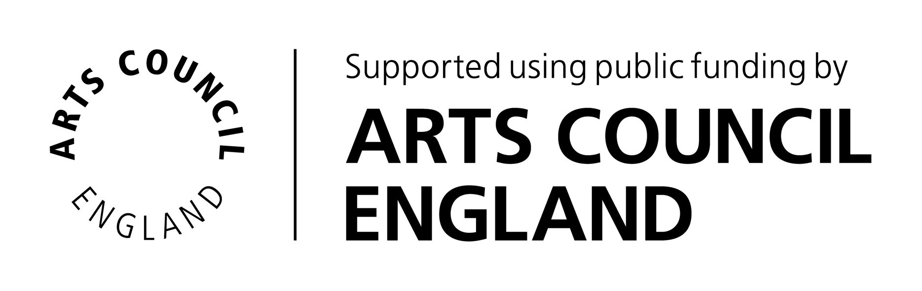 Arts Council England logo.