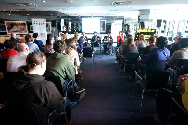 Access to Work panel at Inspiring Futures open Day 24.4.15