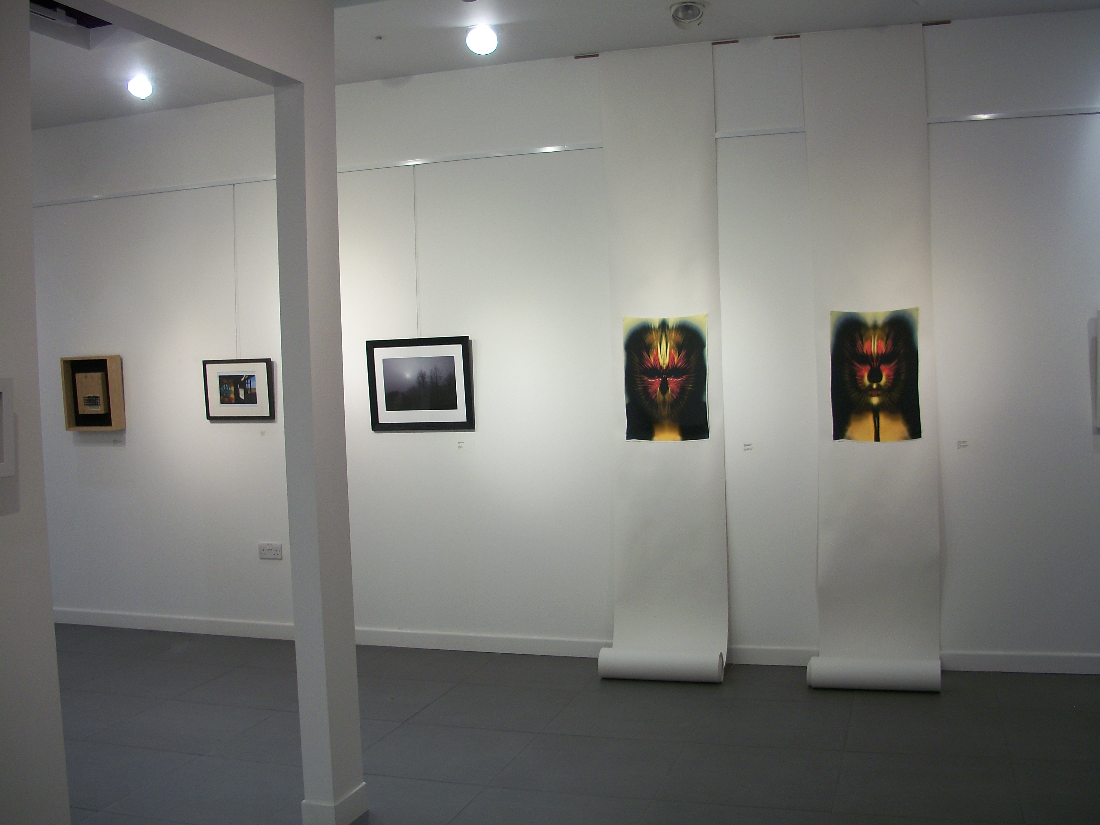 View of the new general exhibition installed at Shape Gallery