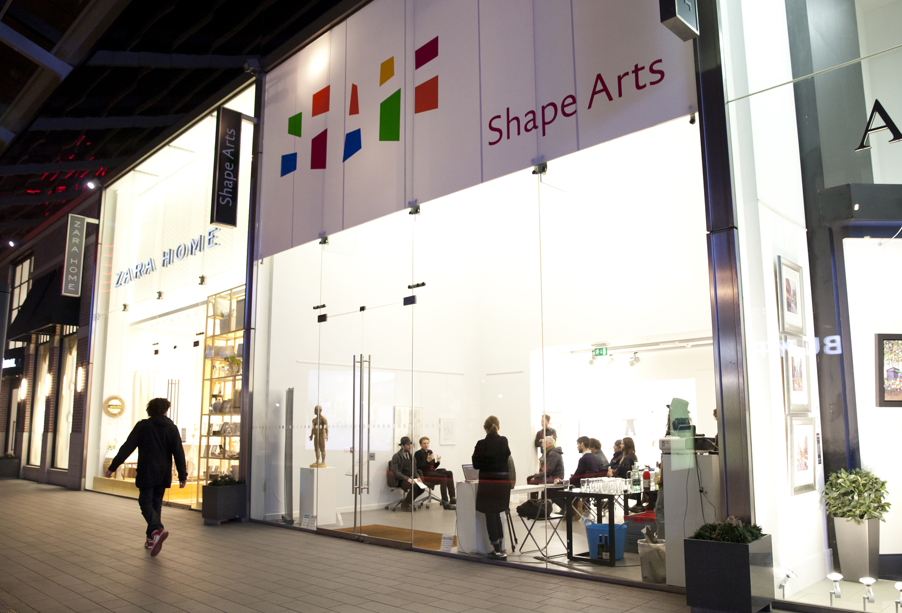 Shape Gallery from outside
