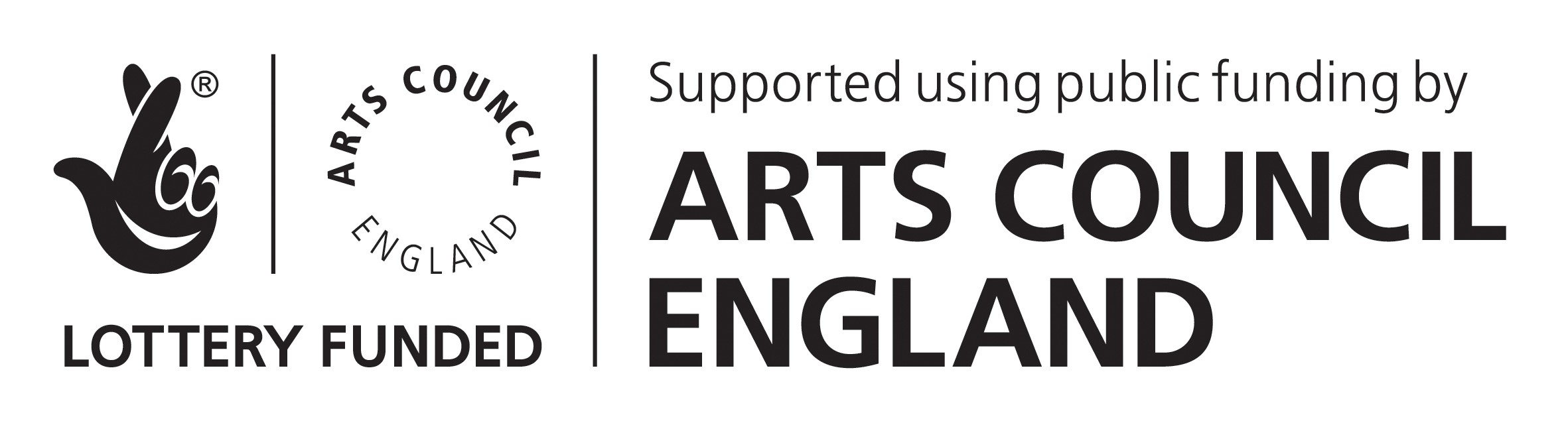 Arts Council Funded. Image Logo.