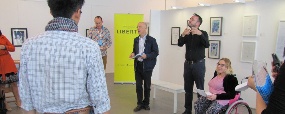 liberty festival launch at our Westfield pop Up space