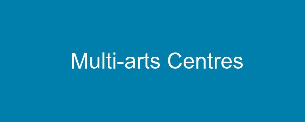 accessible multi-arts centres