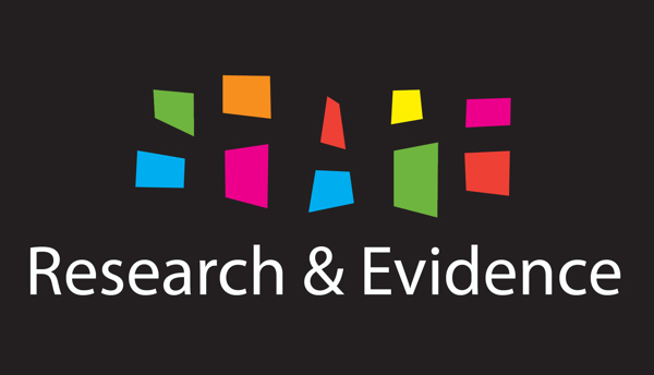 research and evidence logo