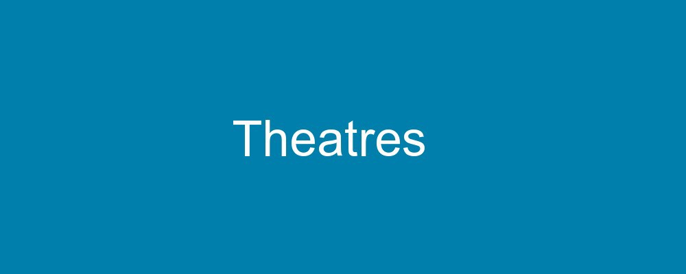 accessible theatres