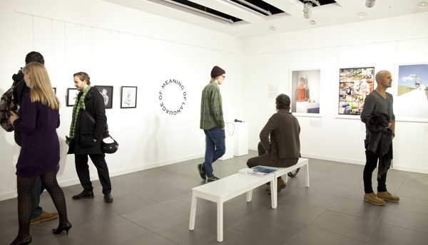 Unlimited exhibition - viewing the work