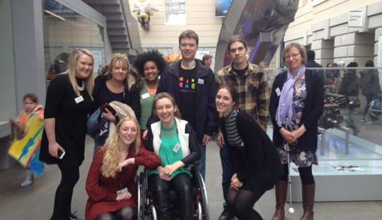 Shape's Young Leaders at the National Maritime Museum